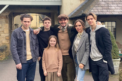 5 quy tắc dạy con của gia đình Beckham - Victoria