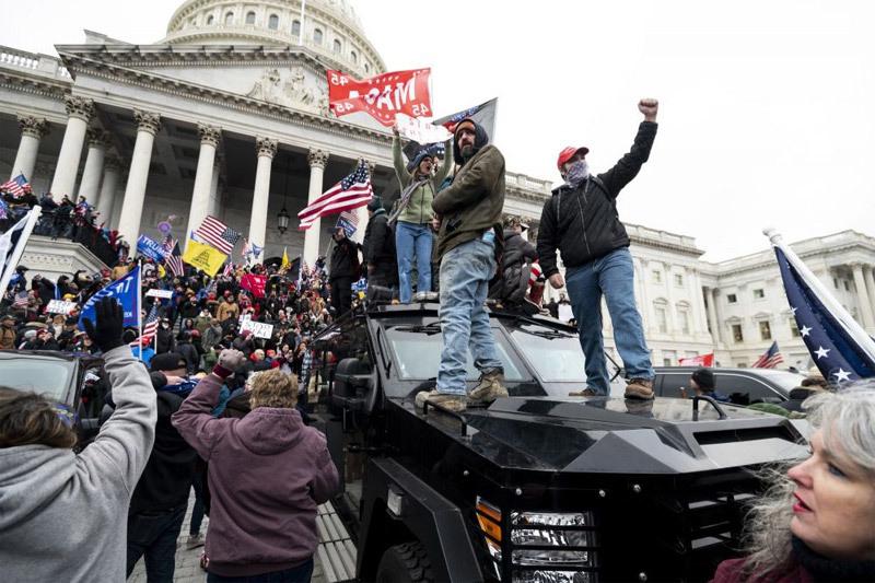 Những mầm mống dẫn tới vụ bạo loạn rúng động Mỹ