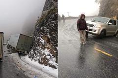 Khuyến cáo dành cho lái xe đi Tây Bắc khi đường đóng băng
