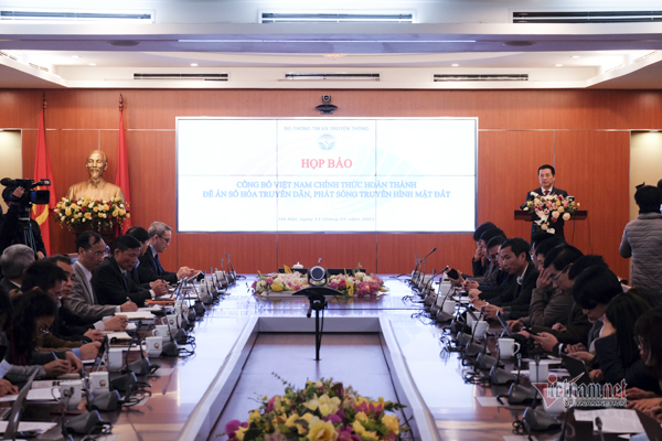 Việt Nam hoàn thành đề án Số hoá truyền hình vượt mọi mục tiêu ban đầu