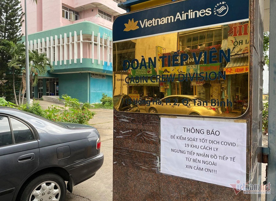 Nam tiếp viên Vietnam Airlines làm lây lan Covid-19 bị khởi tố