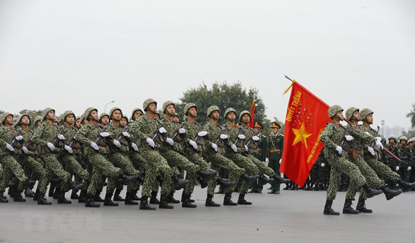 13th National Party Congress,armed forces hold rehearsal