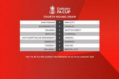MU đụng Liverpool ngay vòng 4 FA Cup