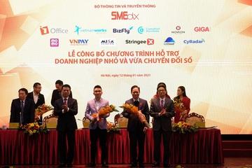 Bộ TT&TT công bố chương trình Hỗ trợ doanh nghiệp nhỏ và vừa chuyển đổi số