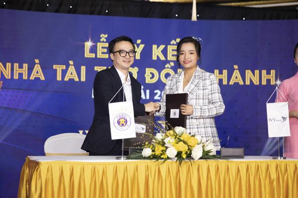 IVY men tài trợ trang phục cho CLB Hà Nội mùa giải 2021
