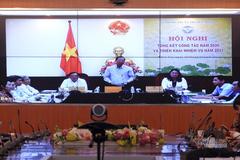 Bí thư tỉnh ủy Bến Tre Phan Văn Mãi chia sẻ kinh nghiệm chuyển đổi số