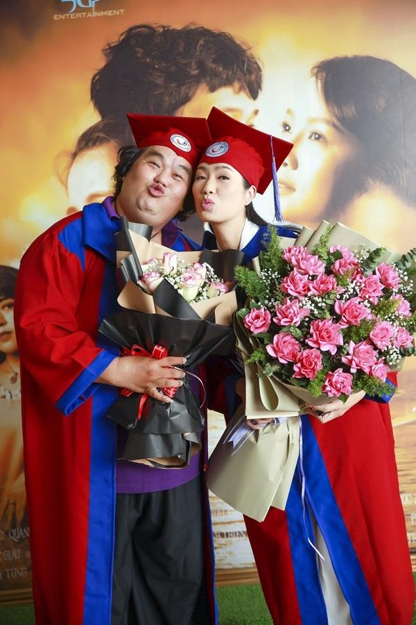 NSƯT Trịnh Kim Chi hạnh phúc tốt nghiệp Đại học ngành đạo diễn
