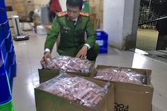 Xử phạt 70 triệu đồng công ty bán thực phẩm không rõ nguồn gốc