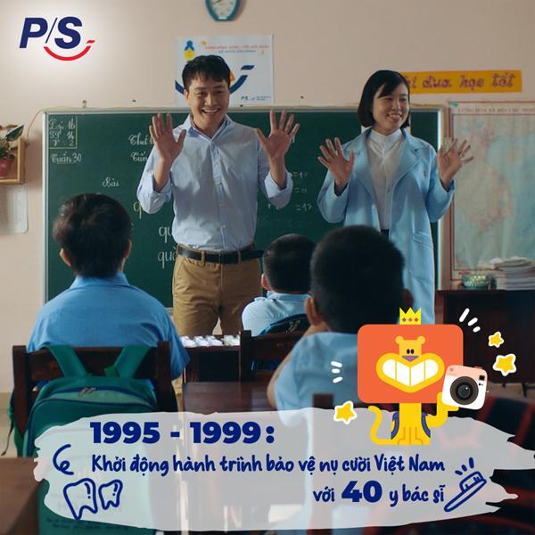 P/S - 25 năm vì những nụ cười Việt Nam rạng rỡ