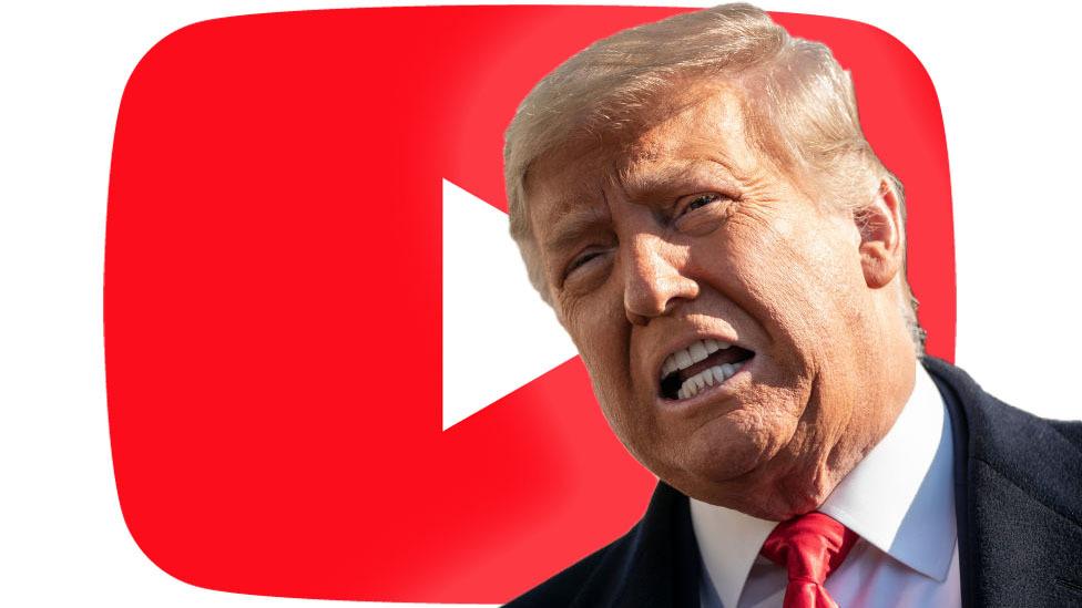 YouTube phong tỏa tài khoản của Tổng thống Mỹ Donald Trump
