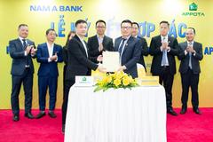 Nam A Bank tiên phong liên kết ví điện tử AppotaPay