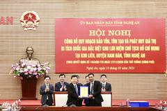 Công bố quy hoạch Khu lưu niệm Chủ tịch Hồ Chí Minh ở Nghệ An