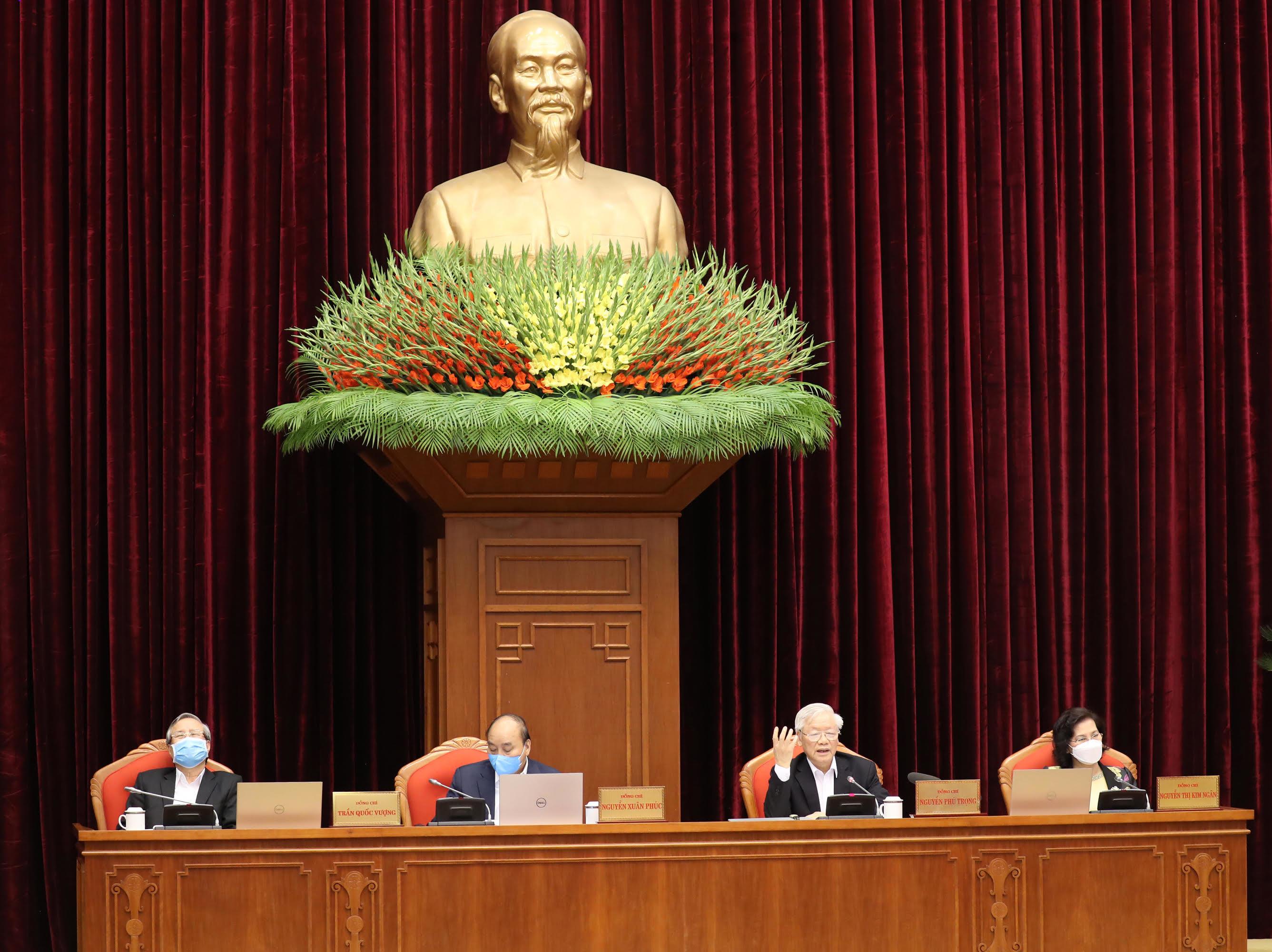 Cả hệ thống chính trị vào cuộc, toàn dân đồng lòng chống dịch Covid-19