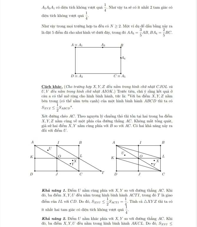 Gợi ý lời giải đề thi học sinh giỏi Toán lớp 9 của Hà Nội