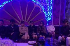 Bắt 7 nam nữ phê ma túy trong quán karaoke ở Hà Tĩnh