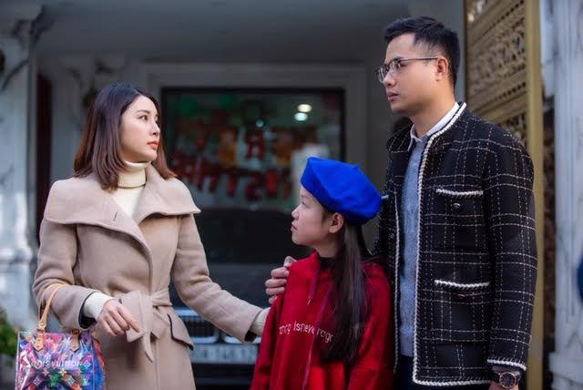 Yan My làm nàng dâu hiền hậu trong phim Tết 2021