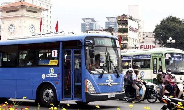HCM City,electric bus,public transport