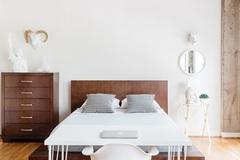 Cách sắp xếp phòng ngủ thông thoáng, mang lại giấc ngủ ngon
