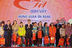 'Tết Sum vầy' ở Bắc Ninh: 2.000 suất quà, 10.000 vé xe về quê, những gian hàng 0 đồng