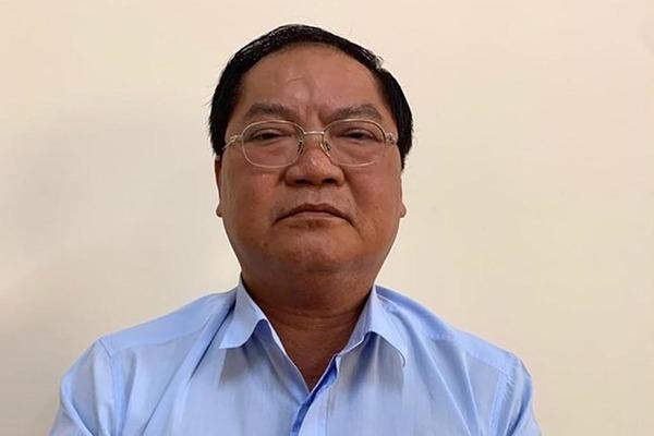 Bị can Nguyễn Thành Mỹ, đồng phạm với ông Lê Tấn Hùng, vừa qua đời