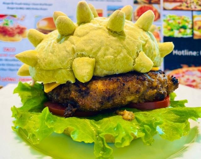 coronavirus-shaped hamburger,restaurants,vietnam economy