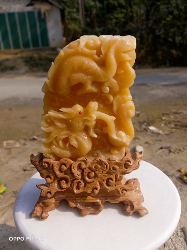 Đá phong thủy, mỹ nghệ Lục Yên hút khách dịp Tết