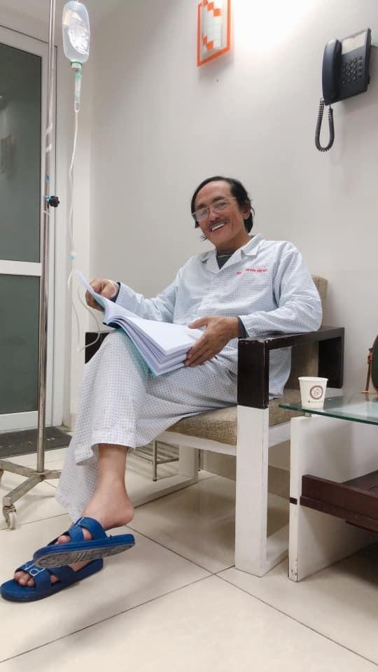 Nghệ sĩ Giang Còi lạc quan dù phải nhập viện vì khối u ở họng