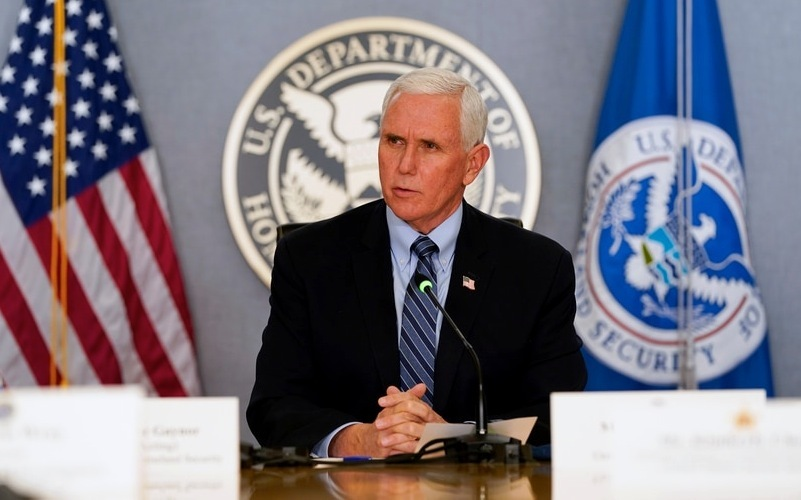 Ông Pence gọi điện cho bà Harris chúc mừng và đề nghị hỗ trợ