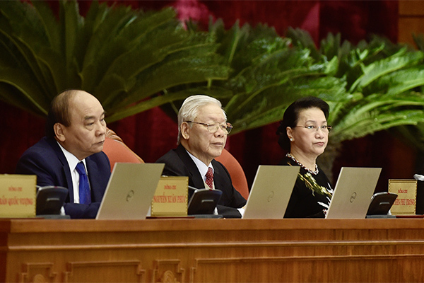 Toàn văn phát biểu của Tổng Bí thư, Chủ tịch nước bế mạc Trung ương lần thứ 15