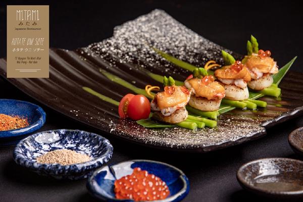Trải nghiệm ẩm thực xứ Phù Tang với nhiều món ăn mới lạ