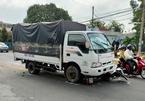 Tài xế xe tải ngủ gật, tông bị thương 5 học sinh đang đi học