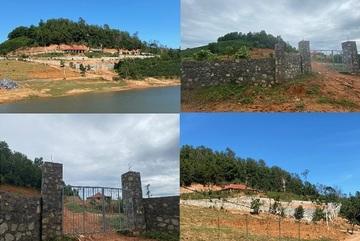 Hỏa tốc kiểm tra vụ bạt đồi xây 'khu tâm linh' trái phép ở Quảng Trị