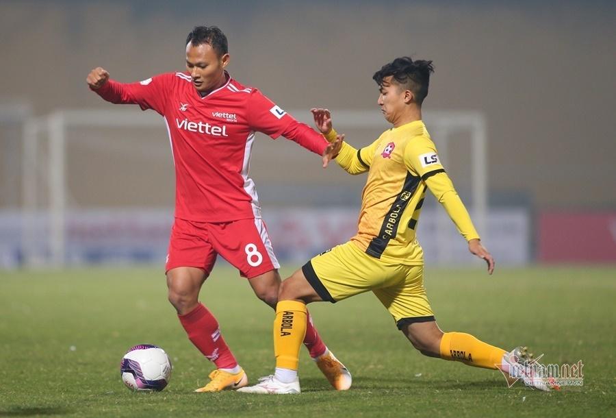Viettel 0-1 Hải Phòng: Nguyên Mạnh liên tiếp cứu thua khó tin (H2)
