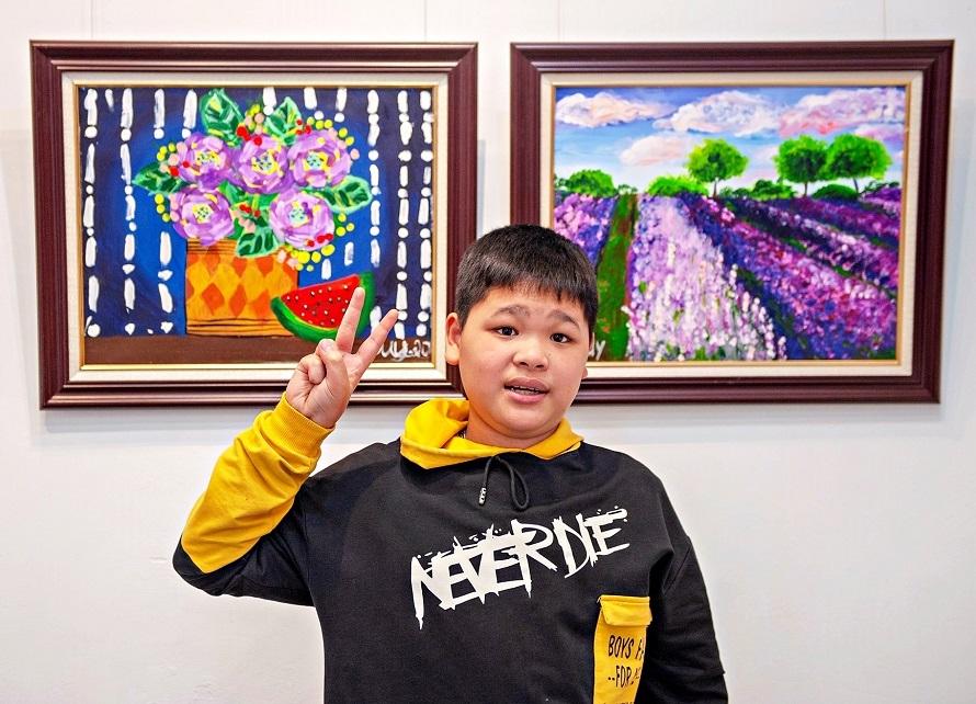 Ra mắt triển lãm tranh nghệ thuật của trẻ tự kỷ