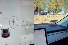 Xe Tesla phát hiện 'người vô hình' ở nghĩa trang