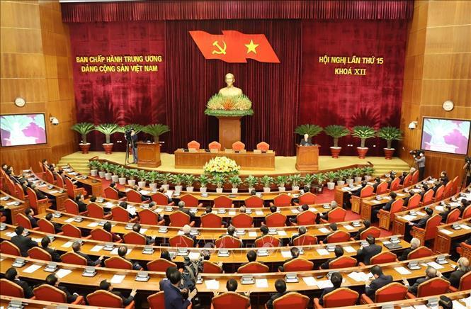Hội nghị lần thứ 15 BCH Trung ương Đảng thành công tốt đẹp