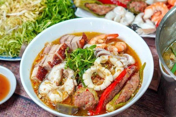Unique fermented fish noodle soup