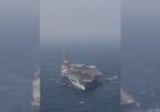 Tên lửa Iran nổ gần vùng biển có tàu sân bay Mỹ