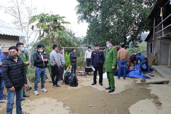 Kẻ đâm chết bố mẹ ở Lai Châu có biểu hiện bất thường