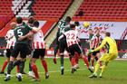 Sheffield Utd 0-1 Tottenham: Aurier mở tỷ số sớm (H1)