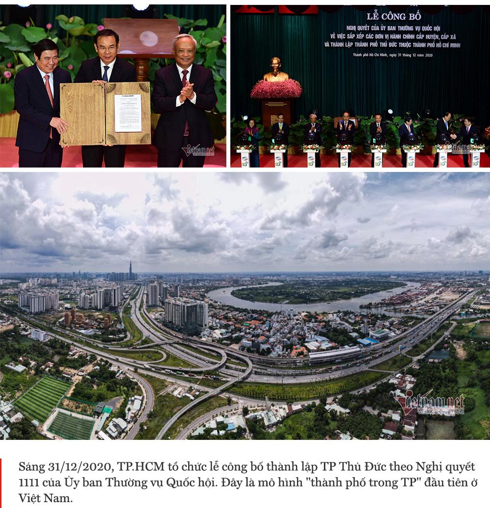 TP Thủ Đức,thành phố Thủ Đức,Nguyễn Thiện Nhân,trí tuệ nhân tạo,khu công nghệ cao,đô thị mới Thủ Thiêm