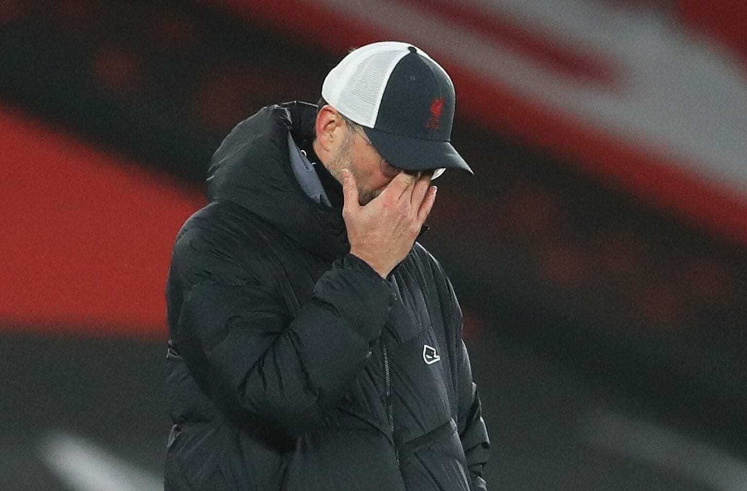 Liverpool hòa như thua MU, số liệu báo động cho Klopp