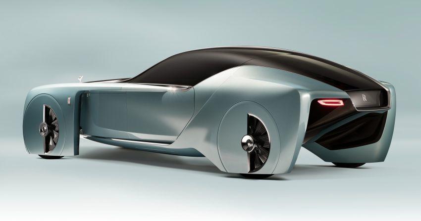 Khám phá những bức ảnh về chiếc xe điện Rolls-Royce đáng chú ý
