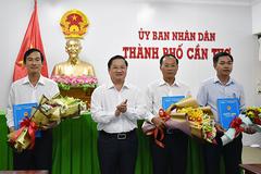 Cần Thơ bổ nhiệm hai giám đốc Sở, giao quyền Chủ tịch quận Cái Răng