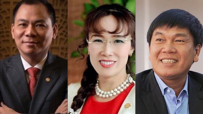 Những tỷ phú Việt trên Forbes và Bloomberg