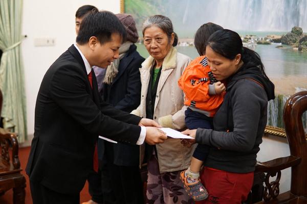BEST Inc hỗ trợ 200 triệu đồng giúp người dân miền Trung đón Tết