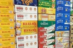 Giá bia rục rịch tăng trước Tết