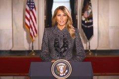 Đệ nhất phu nhân Mỹ cảm động nói lời tạm biệt Nhà Trắng
