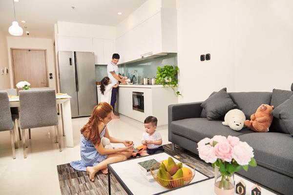 Vinhomes Ocean Park - căn hộ thuê 'chuẩn 5 sao' giữa Hà Nội