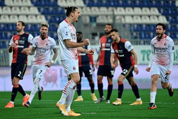"""""""Ông già"""" Ibrahimovic chói sáng, Milan gia cố ngôi đầu"""